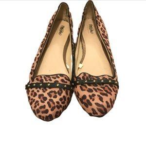Mossimo leopard print flats 11